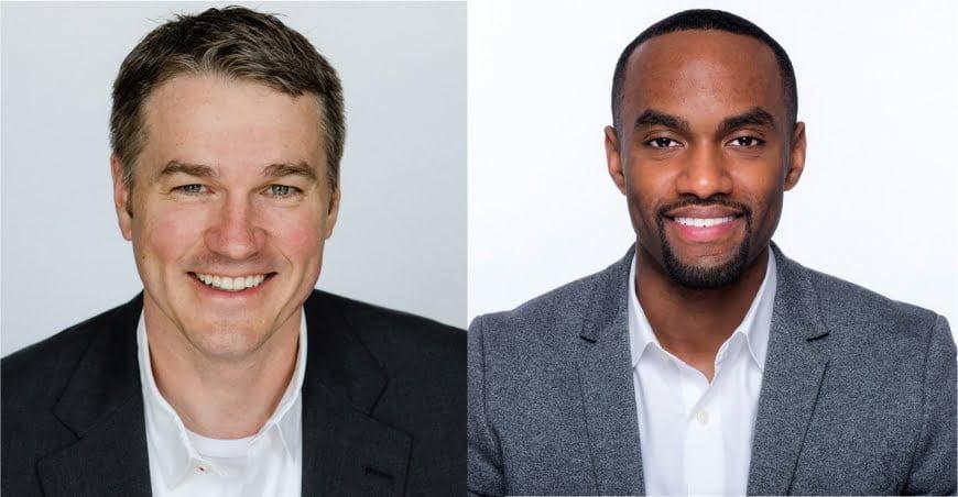 Image of Matt Halper (left) and Jimal Gilbert (right)