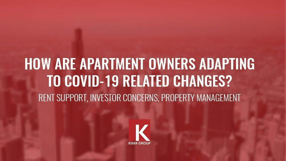 How are apartment owners adapting to covid-19 related changes? rent support, investor concerns, and property management.