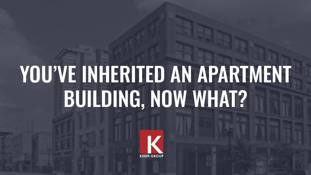 inheriting an apartment building