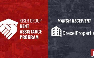 KISER GROUP'S RENT ASSISTANCE PROGRAM – MARCH 2021 UPDATE