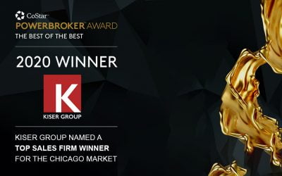 Kiser Group Awarded 2020 CoStar Power Broker Award, Named Top Sales Firm Winner
