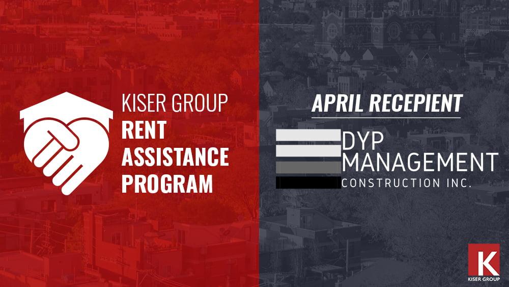 KISER GROUP'S RENT ASSISTANCE PROGRAM – APRIL 2021 UPDATE