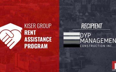 KISER GROUP'S RENT ASSISTANCE PROGRAM – DYP Management